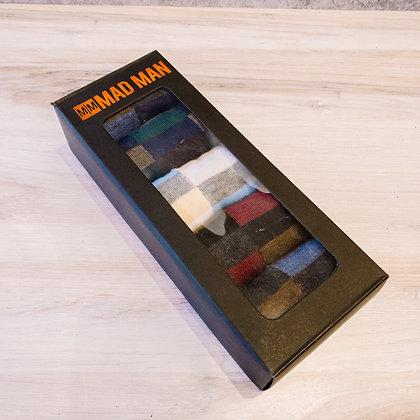 5 Pair Men's Boxed Sock Set - Keyboard Design