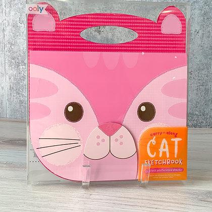 Cat Carry Along Sketchbook