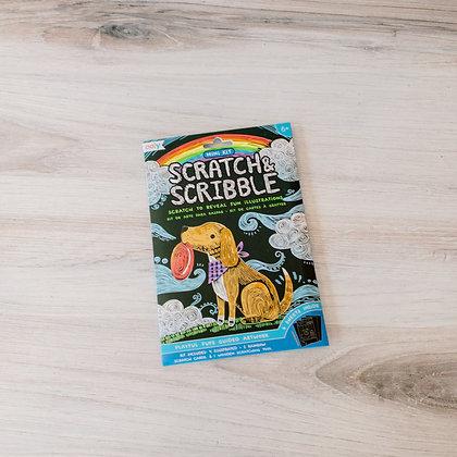 Pups Scratch & Scribble Art Kit
