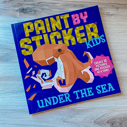 Under the Sea Paint by Stickers
