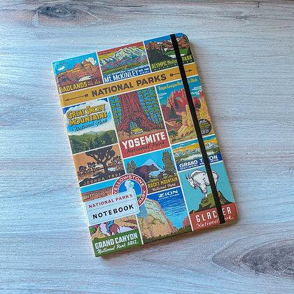 National Parks Large Notebook
