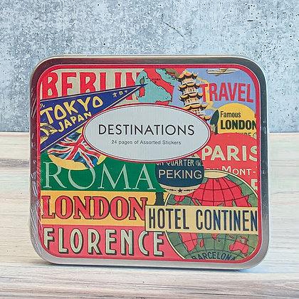 Destinations Stickers
