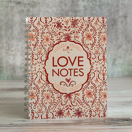 Love Notes Spiral Notebook