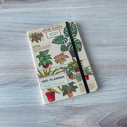 House Plants Weekly Planner - 2021