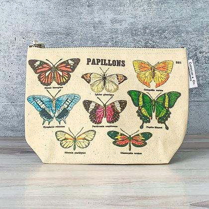 Vintage Pouch - Papillons