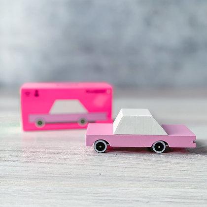 Pink Sedan Candycar