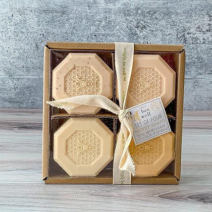 Be Well Honey Soap Set