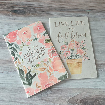 Notebook Set - Live Your Dreams Blossom