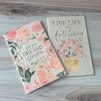 Notebook Set - Live Your Dreams Blossom