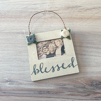 "Mini Frame - ""Blessed"""
