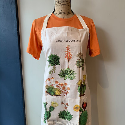 Succulents Vintage Apron - Cavallini