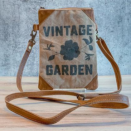 Vintage Garden Crossbody Bag