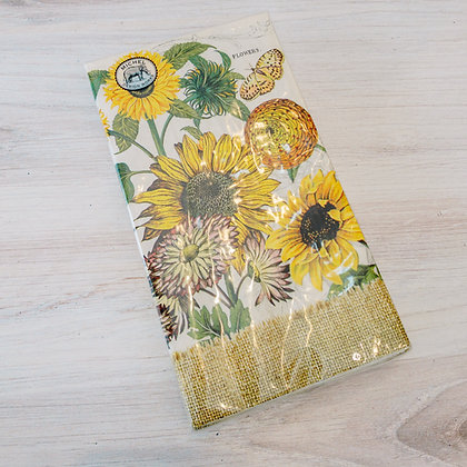 Sunflower Hostess Napkins