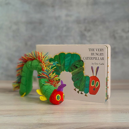 """The Very Hungry Caterpillar"" Board Book & Plush"