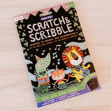 Mini Scratch & Scribble - Safari