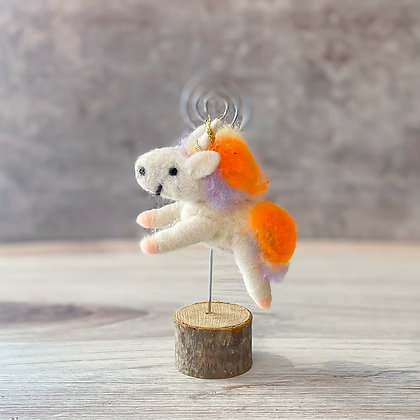 Felt Unicorn Photo Holder