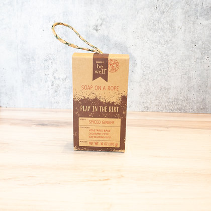 Spiced Ginger Soap on a Rope