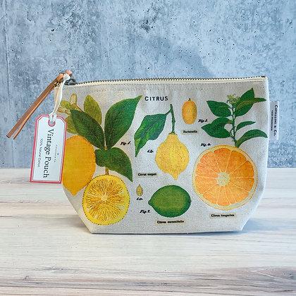 Citrus Vintage Pouch