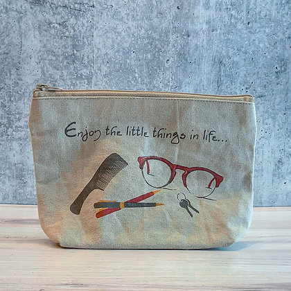 Enjoy the Little Things Canvas Bag