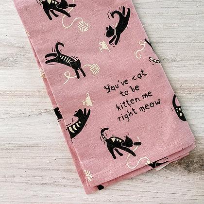 Tea Towel - Kitten Me