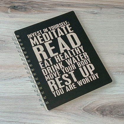 Spiral Notebook - Invest in Yourself