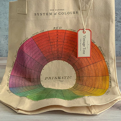 Color Wheel Vintage Tote