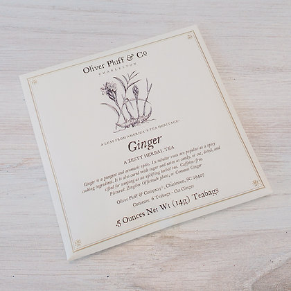 Ginger Herbal Teabags