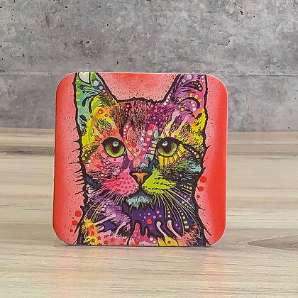 Nine Lives Cat Coaster
