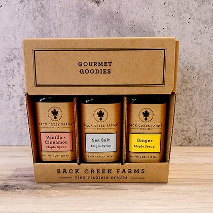 Maple Syrup Sampler - Gourmet Goodies