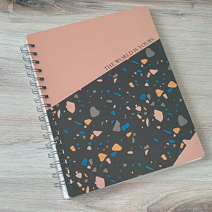 Spiral Notebook - The World is Yours