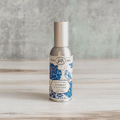Indigo Cotton Scented Room Spray