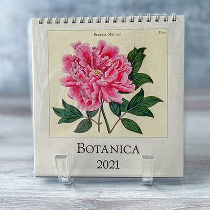 Botanica Desk Calendar -2021