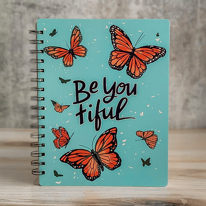 Spiral Notebook - Be You Tiful