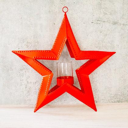 Hanging Star Votive Holder