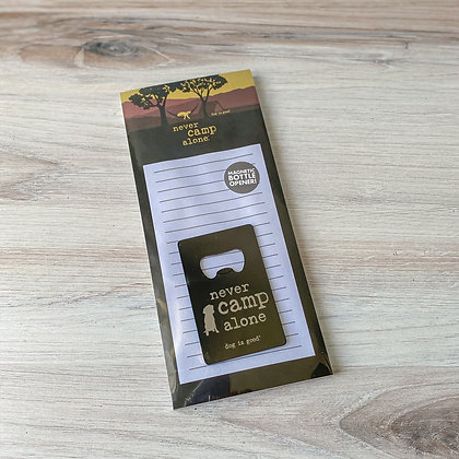 Never Camp Alone Gift Set
