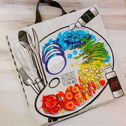 Market Tote - Cooking is An Art