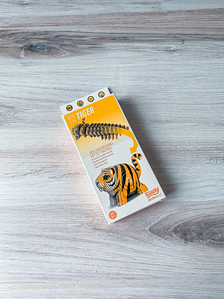 Eugy Tiger 3D Model/Puzzle