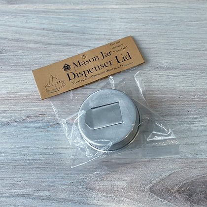 Mason Jar Dispenser Lid