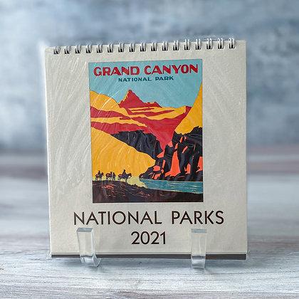 National Parks Desk Calendar - 2021