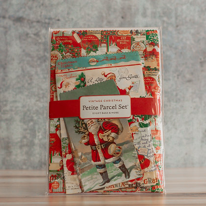 Vintage Christmas Petite Parcel Set