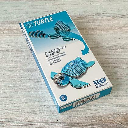 Eugy Turtle 3D Model/Puzzle