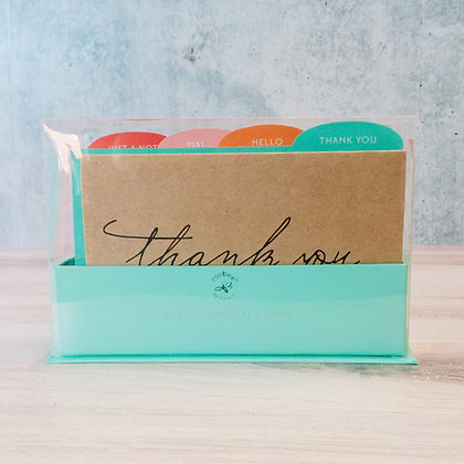 Kraft Paper All Occasions Note Cards