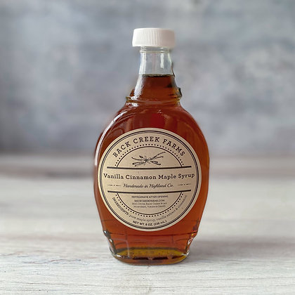 Vanilla Cinnamon Maple Syrup