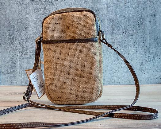 Natural Jute Phone Bag