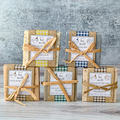 Be Well Exfoliating Bar Soap - Assorted Scents