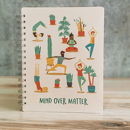 Mind Over Matter Spiral Notebook