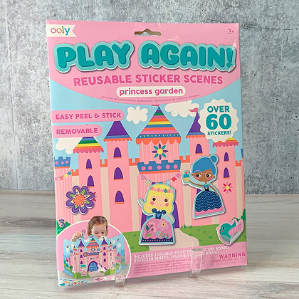 Princess Garden Play Again Reusable Sticker Scenes