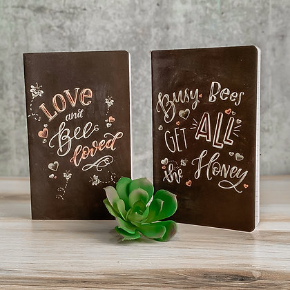 Bee Loved - Large Notebook Set