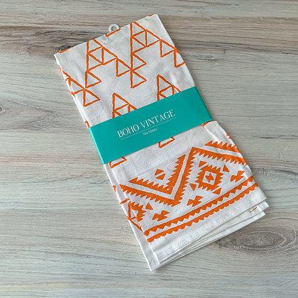 Saffron Tea Towel