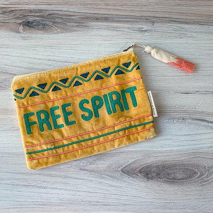 Zipper Pouch - Free Spirit